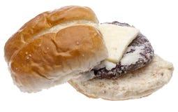 Frozen Slider Cheeseburger Stock Photography
