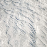 Frozen snow pattern Royalty Free Stock Images
