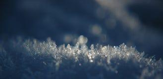 Frozen snow, winter Royalty Free Stock Photo