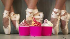 Frozen Soft Serve Yogurt. Stock Image