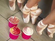 Frozen Soft Serve Yogurt. Stock Photography