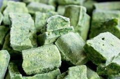 Frozen spinach Royalty Free Stock Photos