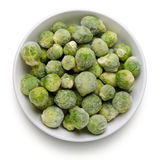 Frozen Sprouts Royalty Free Stock Photos