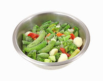 Frozen Stir Fry Vegetables Stock Images