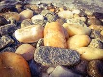Frozen stones Royalty Free Stock Photo