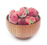 Frozen strawberries Stock Photography