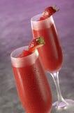Frozen Strawberry Daiquiri Royalty Free Stock Photos