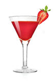 Frozen strawberry daiquiri Royalty Free Stock Photo