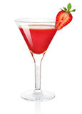 Frozen strawberry daiquiri Stock Photography