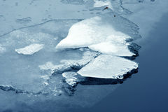 Frozen surface Royalty Free Stock Photo