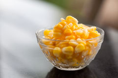 Frozen sweet corn stock photos
