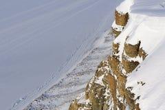 Frozen Tempelfjorden Royalty Free Stock Photography