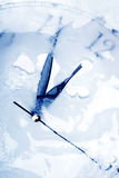 Frozen time stock images