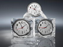 Frozen time Royalty Free Stock Photos