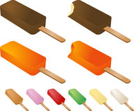 Frozen treats Royalty Free Stock Images