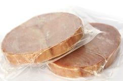 Frozen tuna Stock Photos