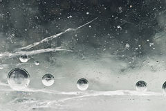 Frozen universe royalty free stock photography