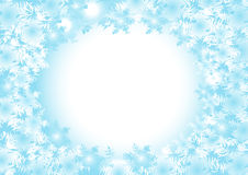 Frozen vector background Stock Images