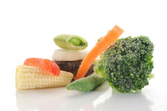 Frozen Vegetable Royalty Free Stock Photography