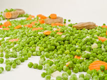 Frozen Vegetables. A selection of frozen vegetables ready for cooking Royalty Free Stock Image