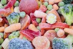 Free Frozen Vegetables Royalty Free Stock Photography - 154188517
