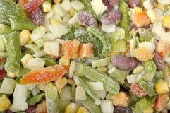 Frozen vegetables Stock Images