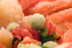 Frozen vegetables Stock Image