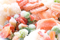 Frozen Vegetables Royalty Free Stock Image