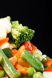Frozen vegetables. On the table Royalty Free Stock Photos