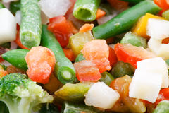 Frozen vegetables Stock Photography