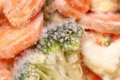 Frozen vegetables background Stock Image