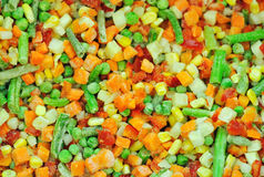 Frozen vegetables Royalty Free Stock Photos