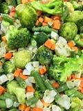 Frozen vegetables closeup Stock Photo