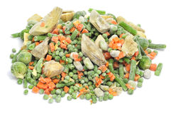 Frozen vegetables mix Royalty Free Stock Photography
