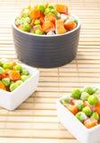 Frozen vegetables mix Stock Images