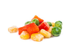 Frozen vegetables mix Royalty Free Stock Photo