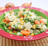 Frozen vegetables Stock Photos