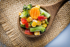 Frozen vegetables. Royalty Free Stock Image