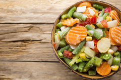 Frozen vegetables. Royalty Free Stock Images