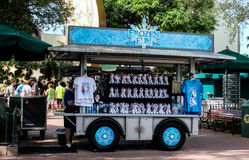 Frozen Vendor cart at Hollywood Studios in Orlando, FL. Royalty Free Stock Photo