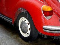 Frozen volkswagen royalty free stock image