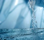 Frozen water Stock Photography