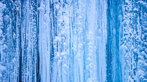 Frozen water background Royalty Free Stock Photography
