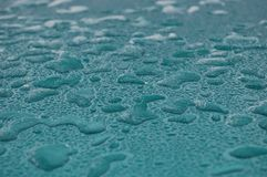 Frozen water bubbles stock image