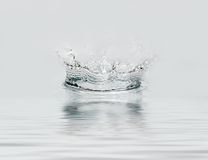 Frozen water drop. Stock Images