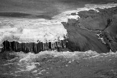Frozen water. Stock Images