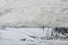 Frozen water Stock Image