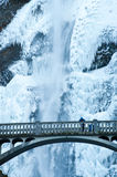 Frozen wateralls Stock Photography