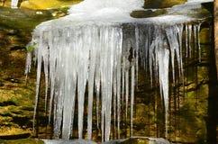 Frozen waterfall Royalty Free Stock Photo