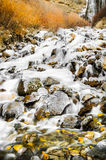 Frozen Waterfall Royalty Free Stock Photos